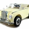 Mercedes 300s Klassieker 12V Crème