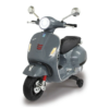 Vespa Kinder Scooter Antraciet/Grijs 12V