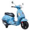 Vespa Kinder Scooter Blauw 12V
