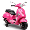 Vespa Kinder Scooter Roze 12V