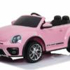 Volkswagen Beetle Dune Beetle 12v Roze – 2 persoons